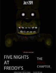Five Nights at Freddy's Final Chapter Film Poster by Tesla51
