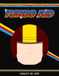 Turbo Kid Minimalist Poster by Tesla51