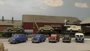 Shapeways Store: Road Vehicles