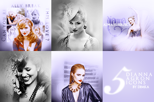Dianna Agron icons by Dimka4
