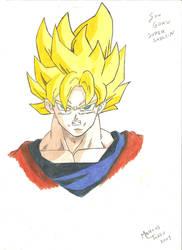 Son Goku by MarcosTNH