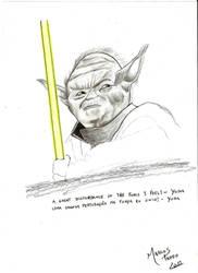 Master Yoda by MarcosTNH