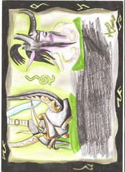Tentativa de Desenho para concurso WoWHead Legion by MarcosTNH