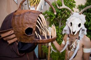 Angler fish mask 2 by mesmithy