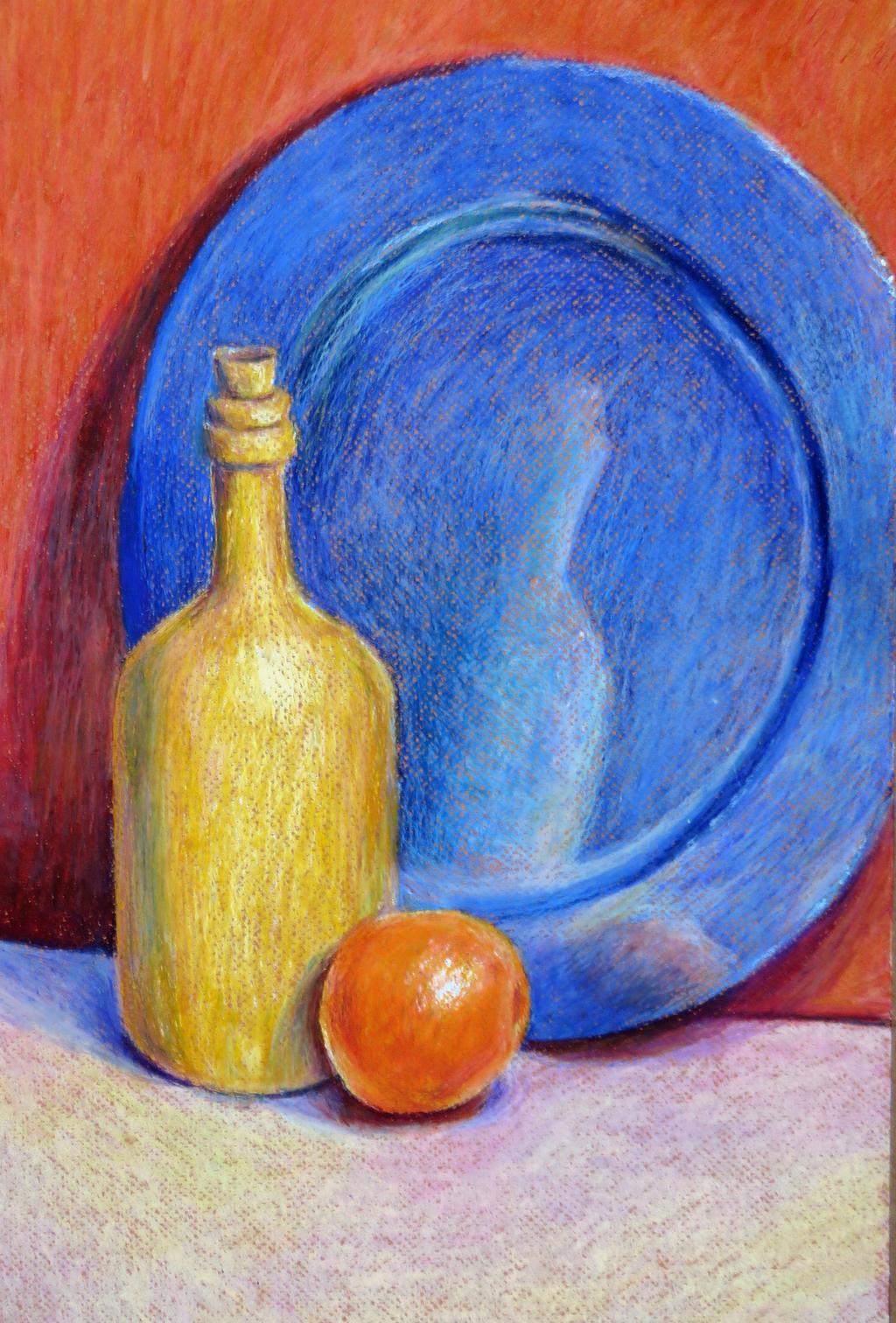 Easy Oil Pastel Still Life Www Imagessure Com