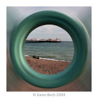 Brighton Radial Blur by karenbirch