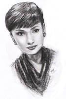 Audrey Hepburn by Yuanchosaan