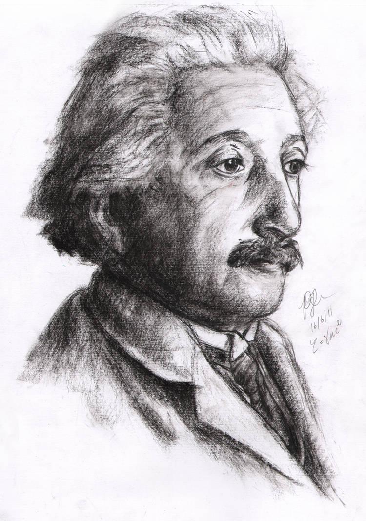 Einstein sketch by Yuanchosaan