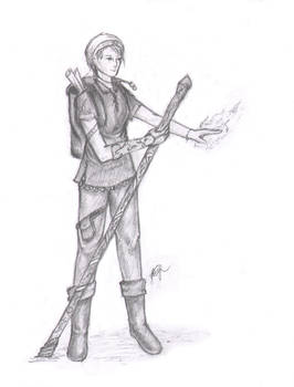 Pathfinder character - Jakesh