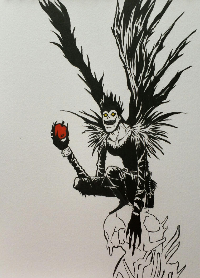 Ryuk | Death Note by Egregiousness on DeviantArt