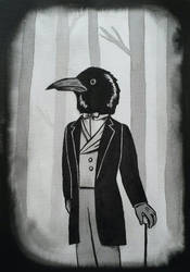 Mr Crow   Rusty Lake by Egregiousness