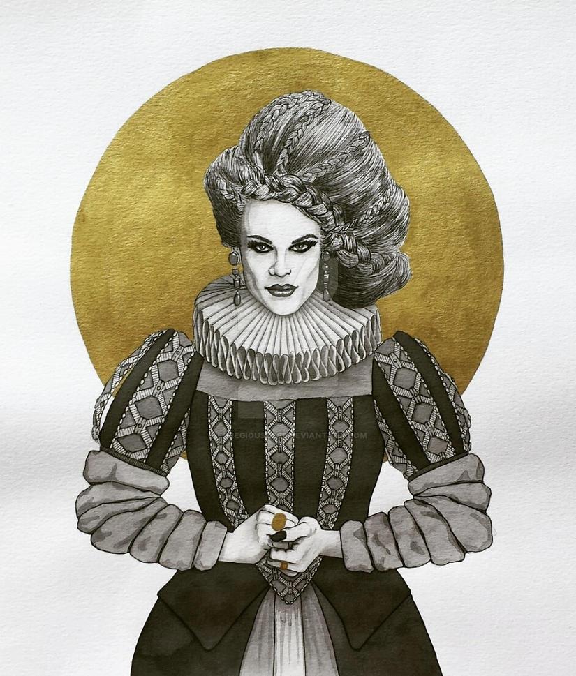 Queen Katya by Egregiousness