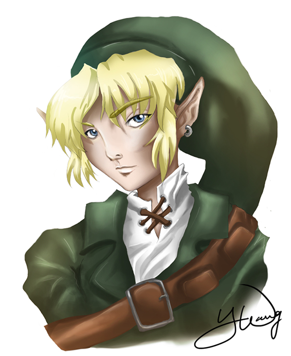 Link (Legend of Zelda Fan Art) by yinsey