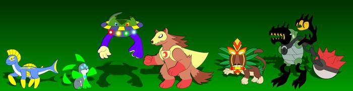 My Pokemon Uranium Team-Pokemon Uranium by PegasusZebra