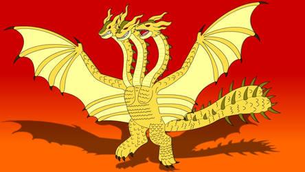 King Ghodirah-Godzilla King of the Monsters