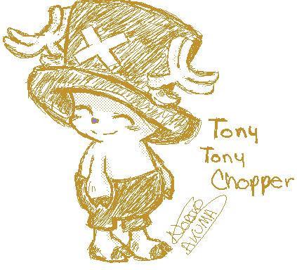 Tony Tony Chopper by Noriko-Sakuma