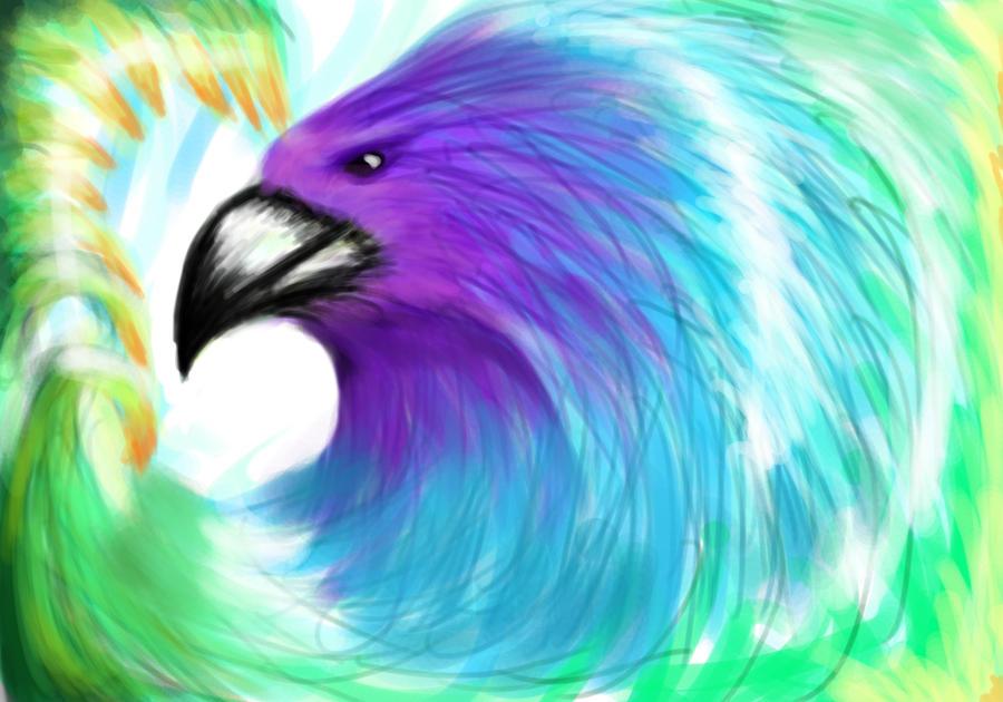 abstract bird by youreverydayartist on deviantart