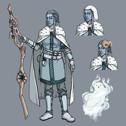 Character Design : Color Final Detail by Crimi-Azna