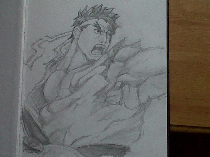 Ryu Street Fighter 4 Drawing By Mowlii Sama On Deviantart