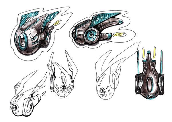 Drones. Concept by Valanta