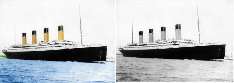 Titanic Colorised