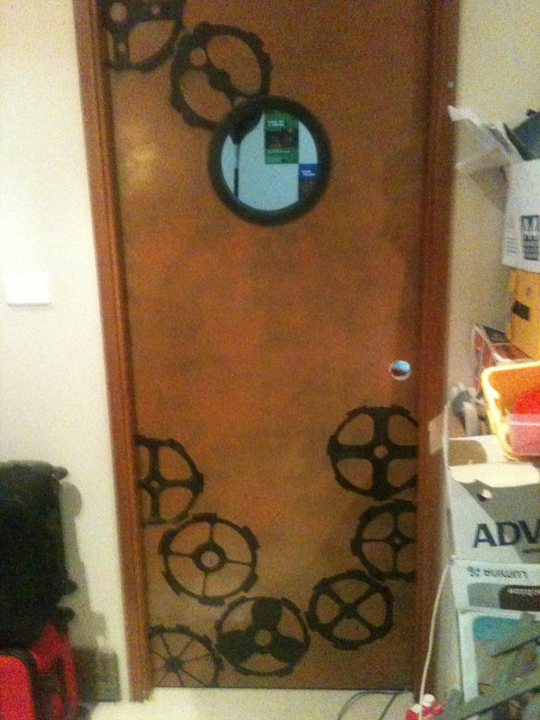 Ste&unk Door by Steamjunkprops ... & Steampunk Door by Steamjunkprops on DeviantArt pezcame.com