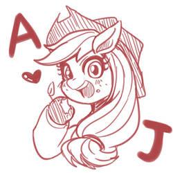 Applejack by raika0306