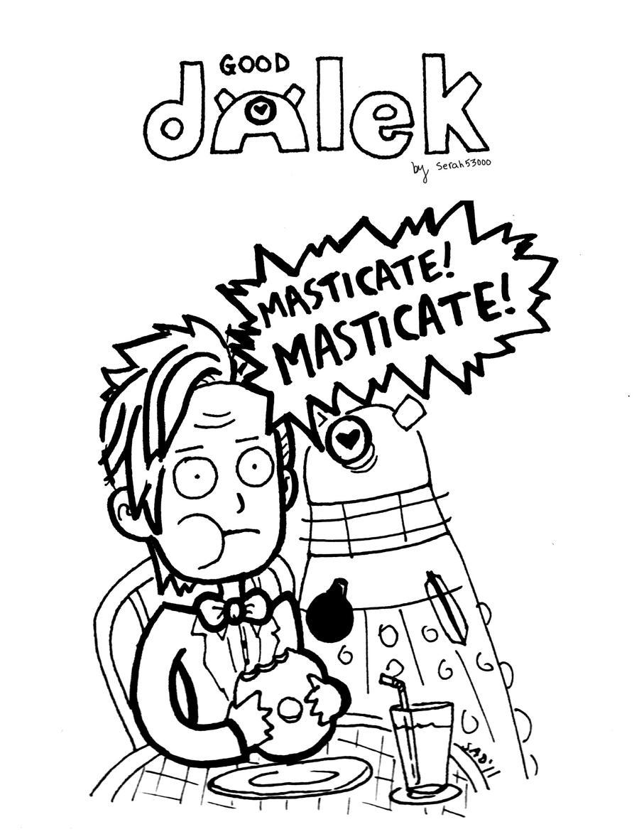 Good Dalek 2 by serah53000