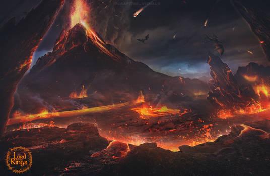 Mount Doom - Lotr