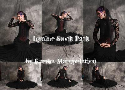 Igraine 01 - Medieval Stock by Karma-Manipulation