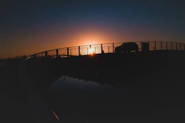 Aveiro Sunset #11 by Davinsky