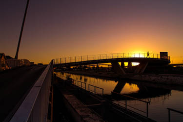 Aveiro Sunset #12 by Davinsky