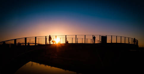 Aveiro Sunset #13 by Davinsky