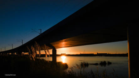 Sunset Aveiro #14 by Davinsky