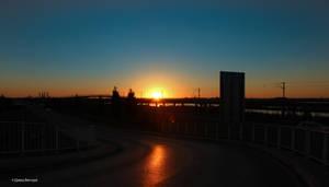 Sunset Aveiro #15 by Davinsky