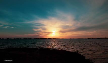 Sunset Aveiro #16 by Davinsky