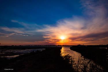 Sunset Aveiro #17 by Davinsky