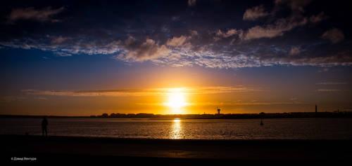 Sunset Aveiro #18 by Davinsky