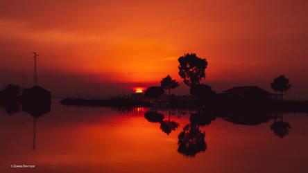 Sunset Aveiro #19 by Davinsky
