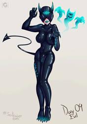 Evil - Sextember #09 by KevoGlumDraws