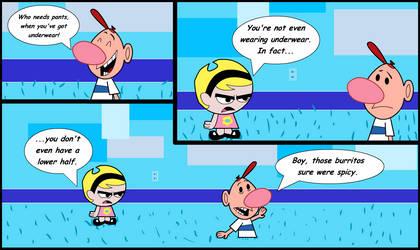 Billy's Half Right by alaskanbullworm