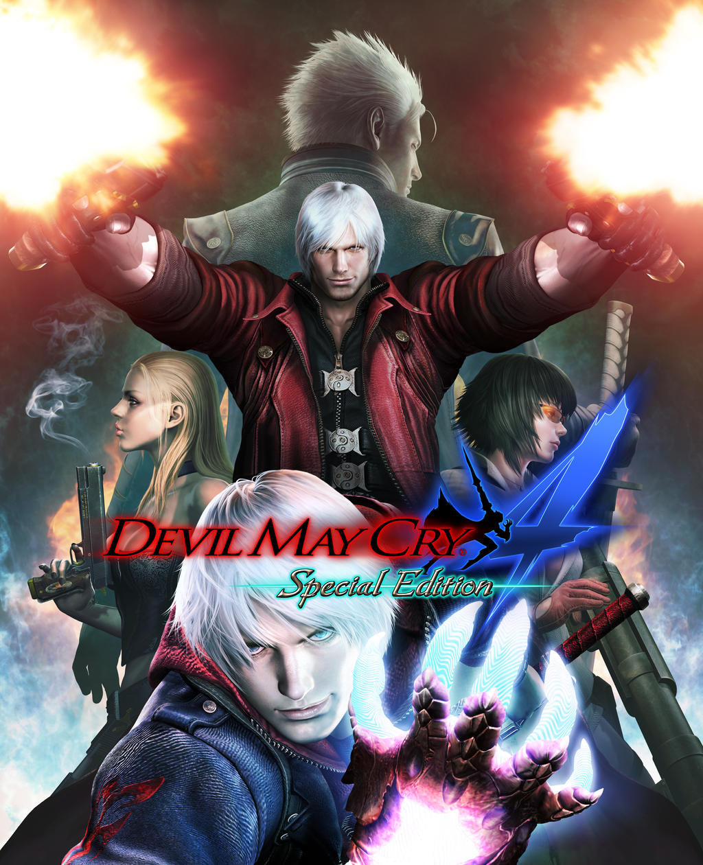 Devil May Cry Special Edition 4 By DanteDevilKnight On