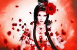 In Red (Diaochan) by RaidenWGT
