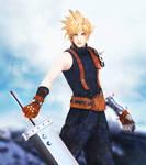Cloud Strife (Final Fantasy) by RaidenWGT