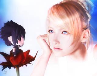 Fairy World ( Lunafreya and Noctis) by RaidenWGT