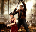 On a mission (Leon and Ada Re 4) by RaidenWGT