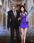 The date of Cloud and Tifa (part 2) by RaidenWGT