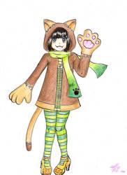 Nyanko by lollie-shironeko