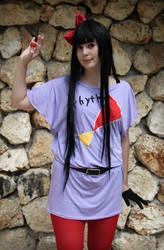 Mio Akiyama - listen outfit by lollie-shironeko