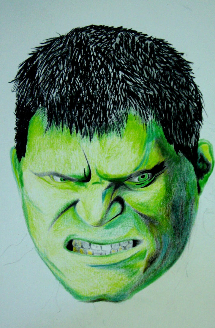 Hulk, color pencil drawing by robiartimre on DeviantArt